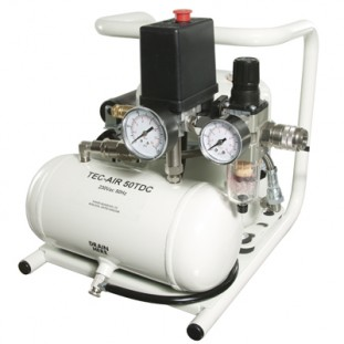 geruisloze luchtompressor